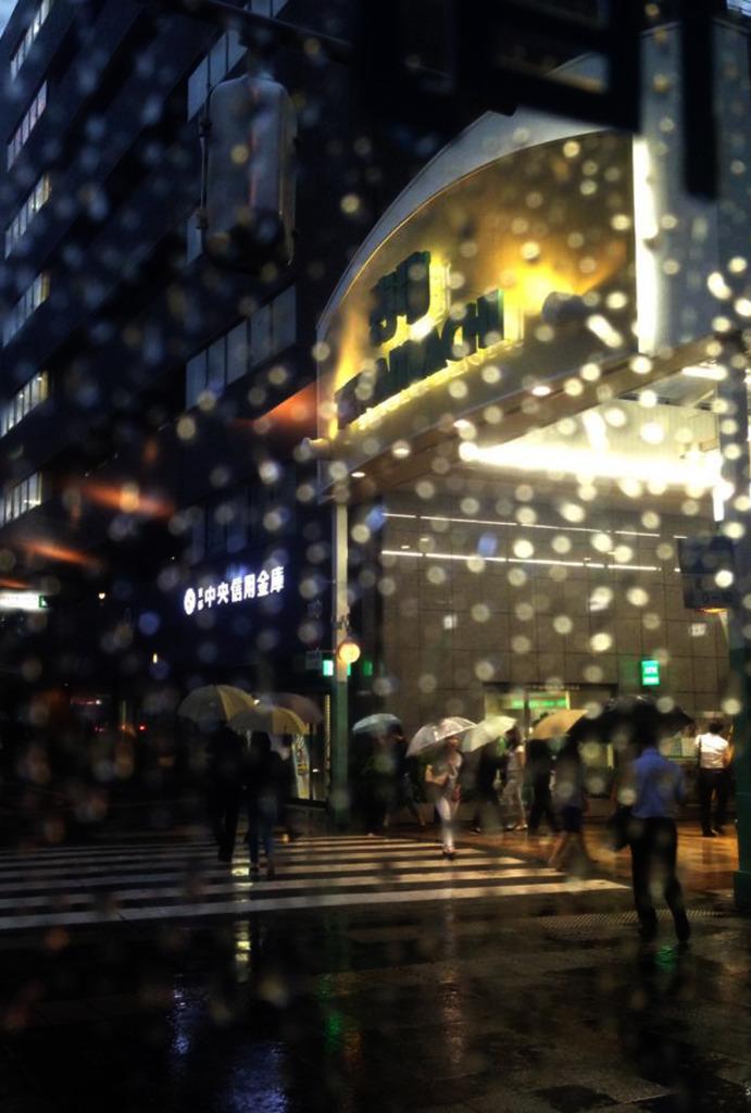 雨の日だから撮れる♪ スマホ写真