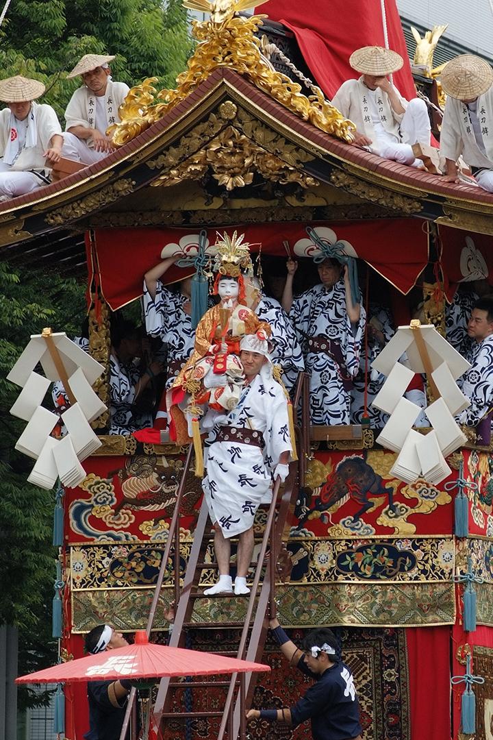 祇園祭(前祭)山鉾巡行2017